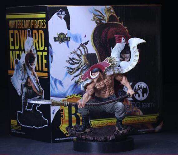 Экшн-фигурка из аниме «белая борода», пираты, Эдвард Ньюгейт из ПВХ, Коллекционная модель, игрушки, фигурки
