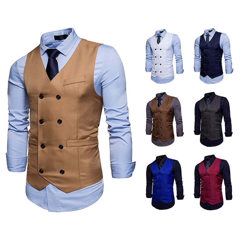 OLOME 2019 Official Men Suit Vest Mens Foramal Weeding Dress Vests Waistcoat Mens Gilet Business Wedding Vest Masculino Clothes
