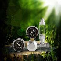 Nicrew New Arrival High Quality CO2 Equipment Regulator With Gauge Bubble Counter Cylinders Pressure Regulator Planted