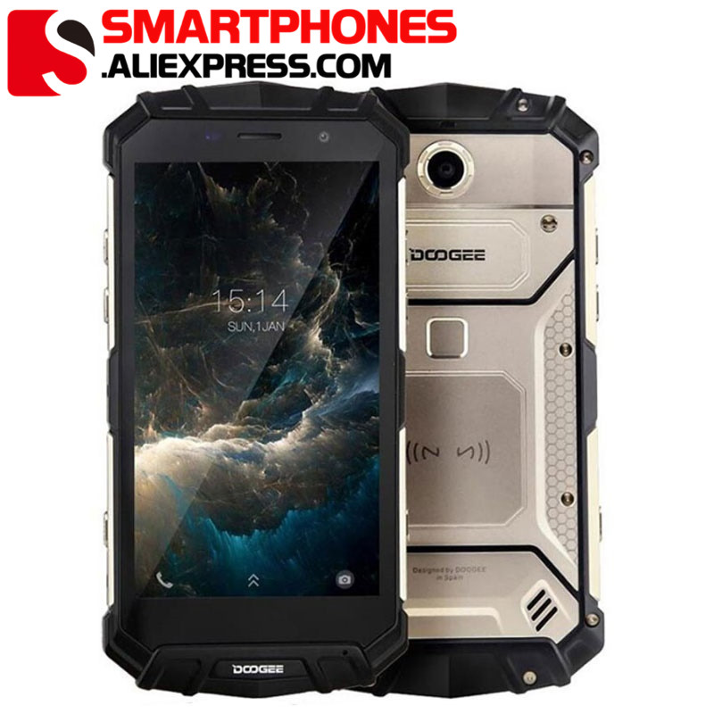 "Nouveau DOOGEE S60 Lite IP68 téléphone portable étanche 5.2 ""4 GB RAM 32 GB ROM MTK6750T Octa Core Android 7.0 Smartphones de Charge sans fil-in Mobile Téléphones from Téléphones portables et télécommunications on AliExpress - 11.11_Double 11_Singles' Day 1"