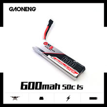 3PCS Gaoneng GNB 600mah 3.7V 50C/100C Lipo battery for Four axis quadcopter FPV Drone Helicopter Aircraft RC Drone Parts(China)