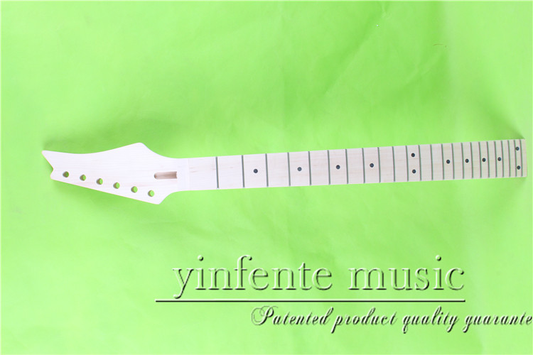 YZ-0086#      25.5 Electric guitar neck   Bolt on  maple