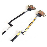 New Original DC-IN Power Jack w/ Cable For Lenovo Yoga 900-13ISK Series, DC30100PN00