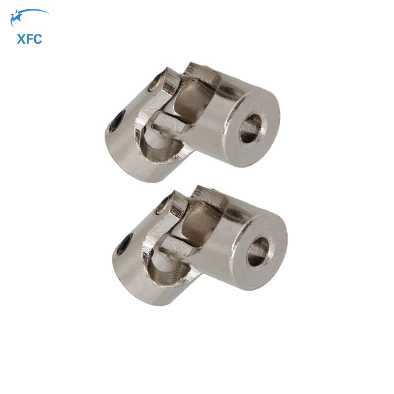 1pair 5mm X 5mm font b RC b font Stainless Steel Universal Joint Shaft Coupling Motor