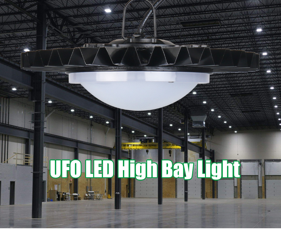 LED High Bay Lights UFO IP40 Retrofit Highbay Workshop Lamp 50W 100W 150W 200W Industry Factory Warehouse Industrial Lighting  (2)