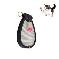 Petacc Cat Scratcher Sisal Hemp High Quality Pet Scratching Pad Anti Abrasion Cat Toy With Cartoon