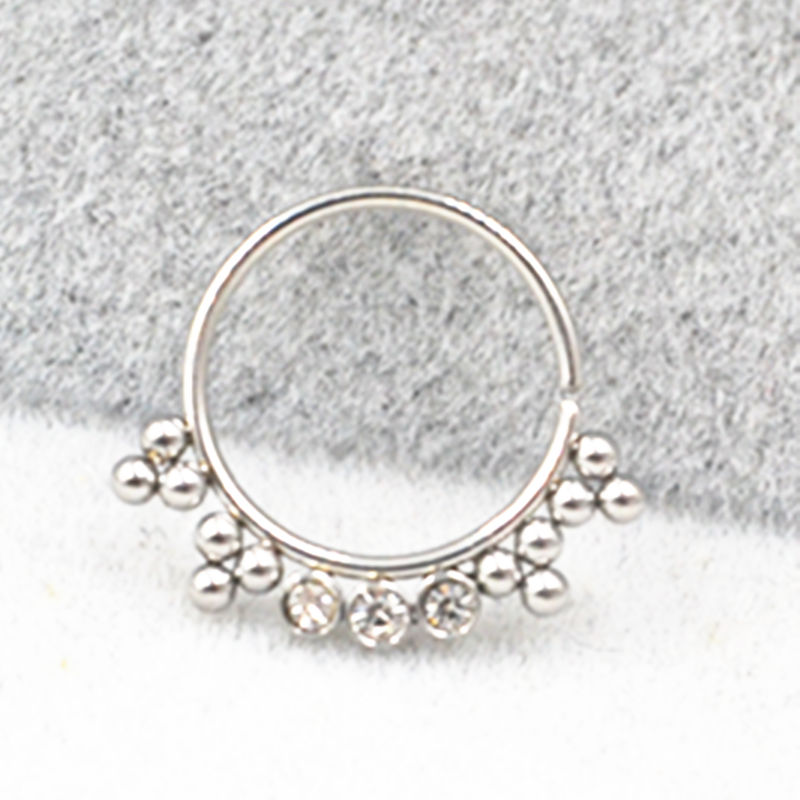 50pcs 20gx10mm Surgical Steel Nose Ring Earring Septum Rings Ear Helix Cartilage Diath Nose Studs Body Piercing NEW Free Ship