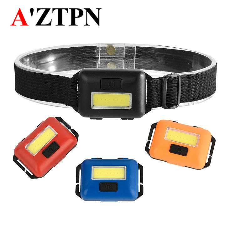 Mini COB LED Headlamp  Waterproof 3 Modes Headlight Head Flashlight Torch Lanterna For Outdoor Camping Night Fishing Hiking