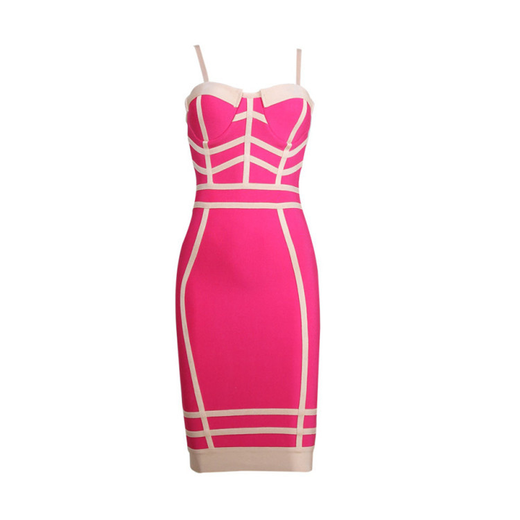 Online Buy Wholesale pink bustier dress from China pink bustier ...