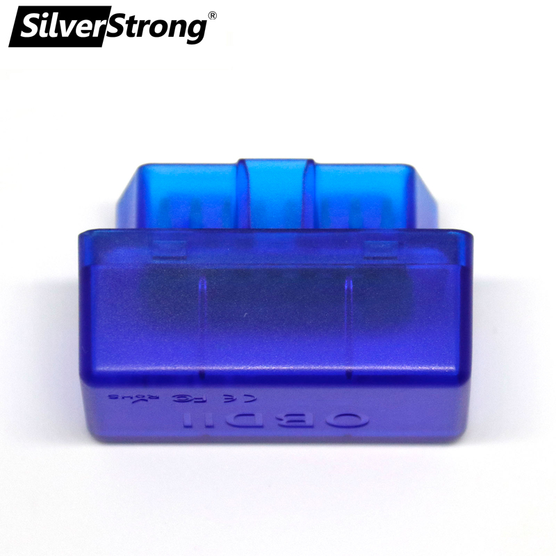SilverStrong Universal ELM327 V1 5 V2 1 Mini ELM 327 OBD2 Bluetooth Car Kit  Interface OBD2 bluetooth Auto Scanner For Android