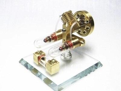 Stirling engine model External combustion engine micro-generatorStirling engine model External combustion engine micro-generator