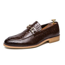 Genuine Leather Men Flats Casual Shoes Soft Loafers Comfortable Driving Shoes business dress wedding party Men Breathable Shoes fashion braided casual mens loafers dress luxury genuine leather breathable italy designer wedding men shoes man flats for party