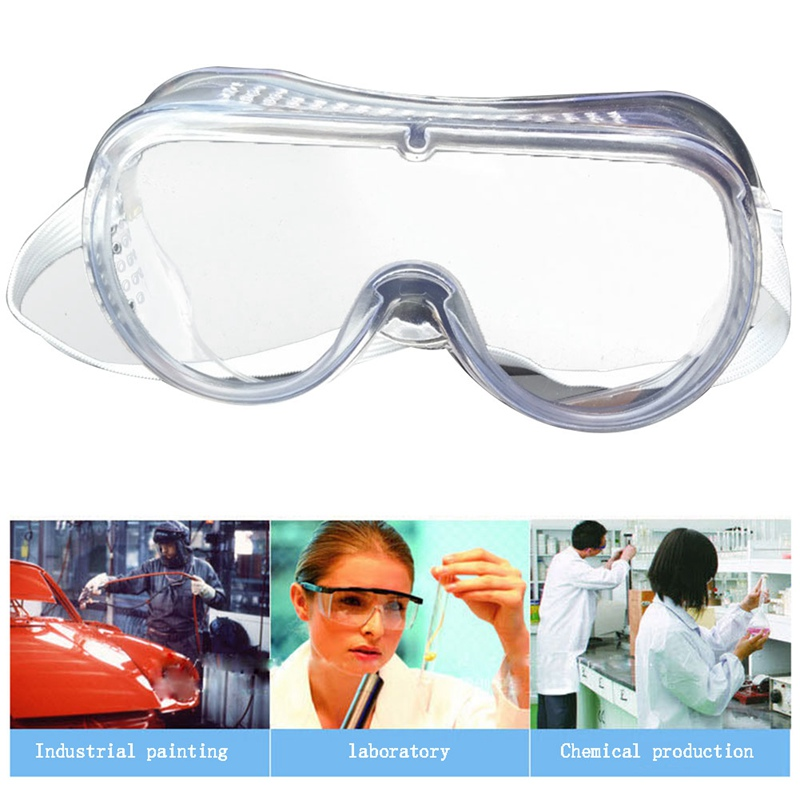 Eye Protection Protective Lab Anti Fog Clear Goggles Glasses Vented Safety Glasses For Industrial Lab Work lab medical student eyewear clear safety eye protective anti fog goggles glasses new hot sell
