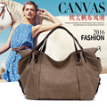 2016 Canvas big bag Shoulder bags women Messenger female leisure travel bag 1120