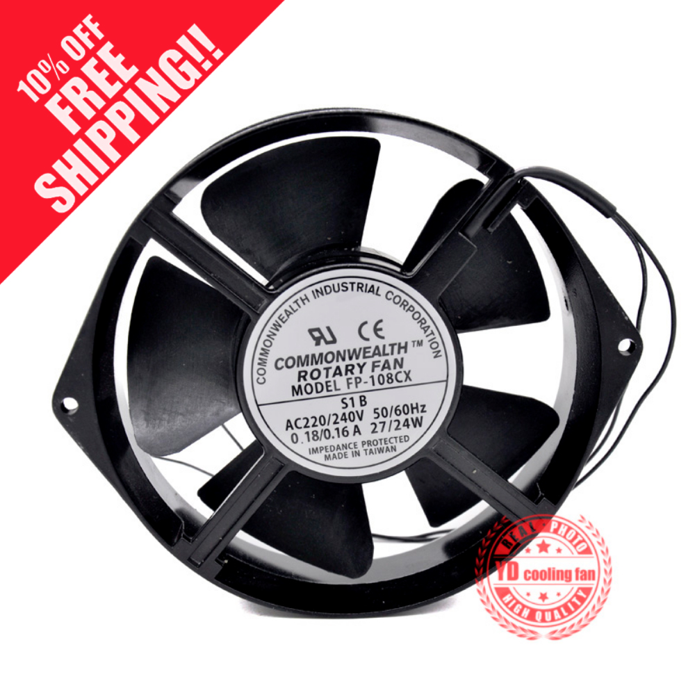 NEW COMMONWEALTH FP-108CX-S1-B 170*150*38mm 220V frequency cooling fanNEW COMMONWEALTH FP-108CX-S1-B 170*150*38mm 220V frequency cooling fan