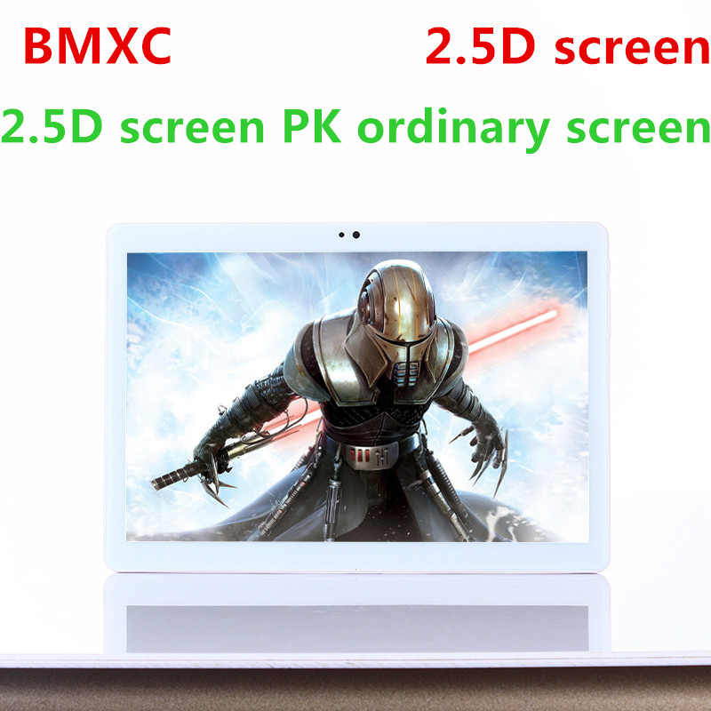 BMXC New 2.5D screen 10 inch MTK8752 Octa Core 3G WCDMA Tablet pc 4G RAM 32G ROM 1280*800 IPS Android 7.0 WIFI bluetooth tablets bmxc 10 inch android 7 0 os 3g tablet pc octa core 2gb ram 32gb rom 1280 800 ips kids gift mid tablets dual sim bluetooth