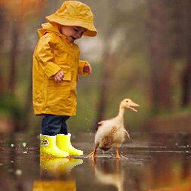 Online Shop MAGGIE\'S WALKER Kids Yellow Duck Rainboots Kawaii Cute ...