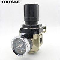 AR3000 03 16mm Thread Air Pneumatic Filter Regulator W 0 1MPa Adjustable Gauge Free Shipping