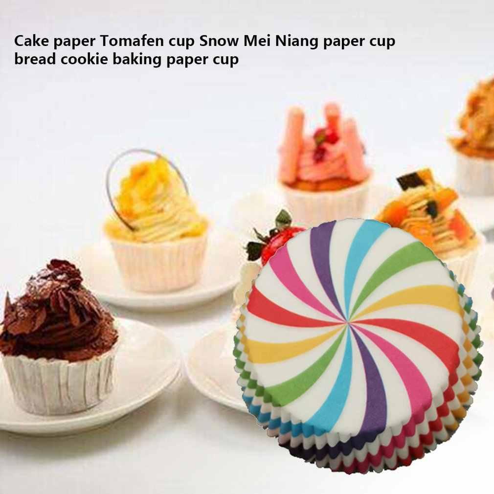 Cupcake Kertas Cangkir Kecil Kue Kertas Toma Fen Cup Salju Mei Niang Kertas Roti Roti Kue Baking Kertas Cangkir