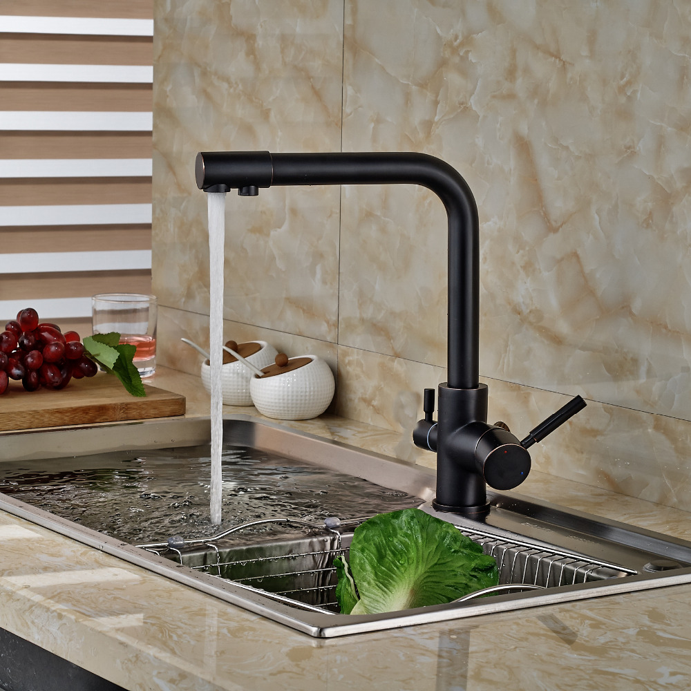 Rubbed Bronze Kitchen Faucet Oil Rubbed Bronze Kitchen Faucets Promotion Shop For Promotional