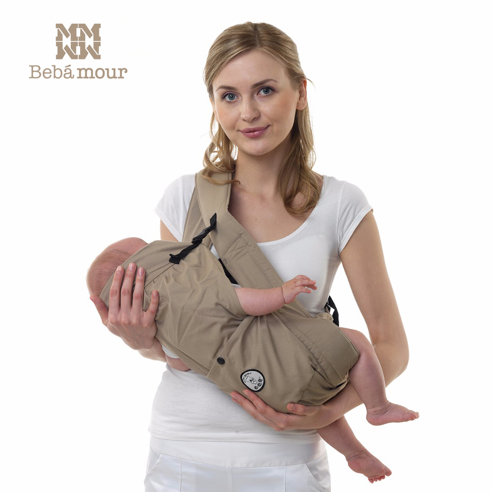 Bebamour Baby Carriers Soft and Comfortable Baby Sling Horizontal Baby Wrap Baby Ergonomic Backpack цены онлайн