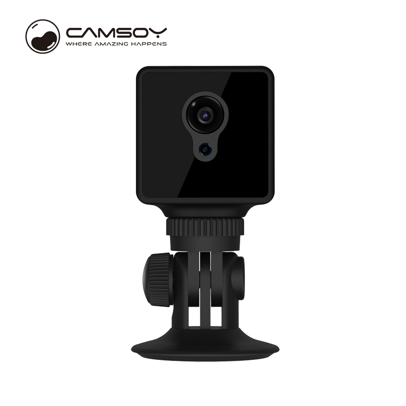 US $45 24 42% OFF|Camsoy S8 mini camera WiFi Night Vision Camcorder HD 720P  TF card wireless video hidden Motion Detection secret car home use-in Mini