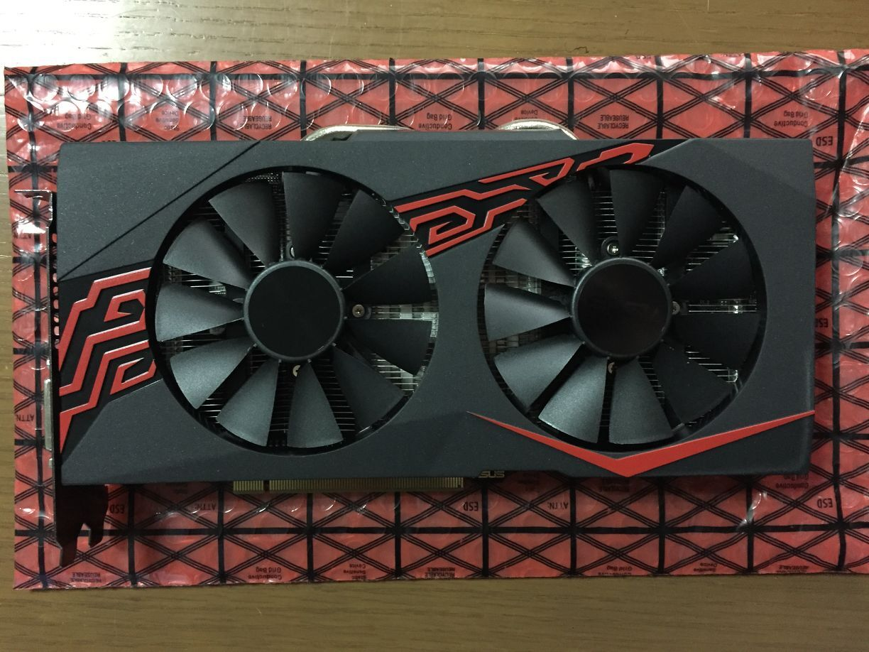 Asus GTX1060 5G graphics card used 90%new image