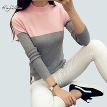 2017 Autumn Winter High Elastic Turtleneck Women Sweaters And Pullovers Female Tricot Knitted Sweater Jumper Pull Femme