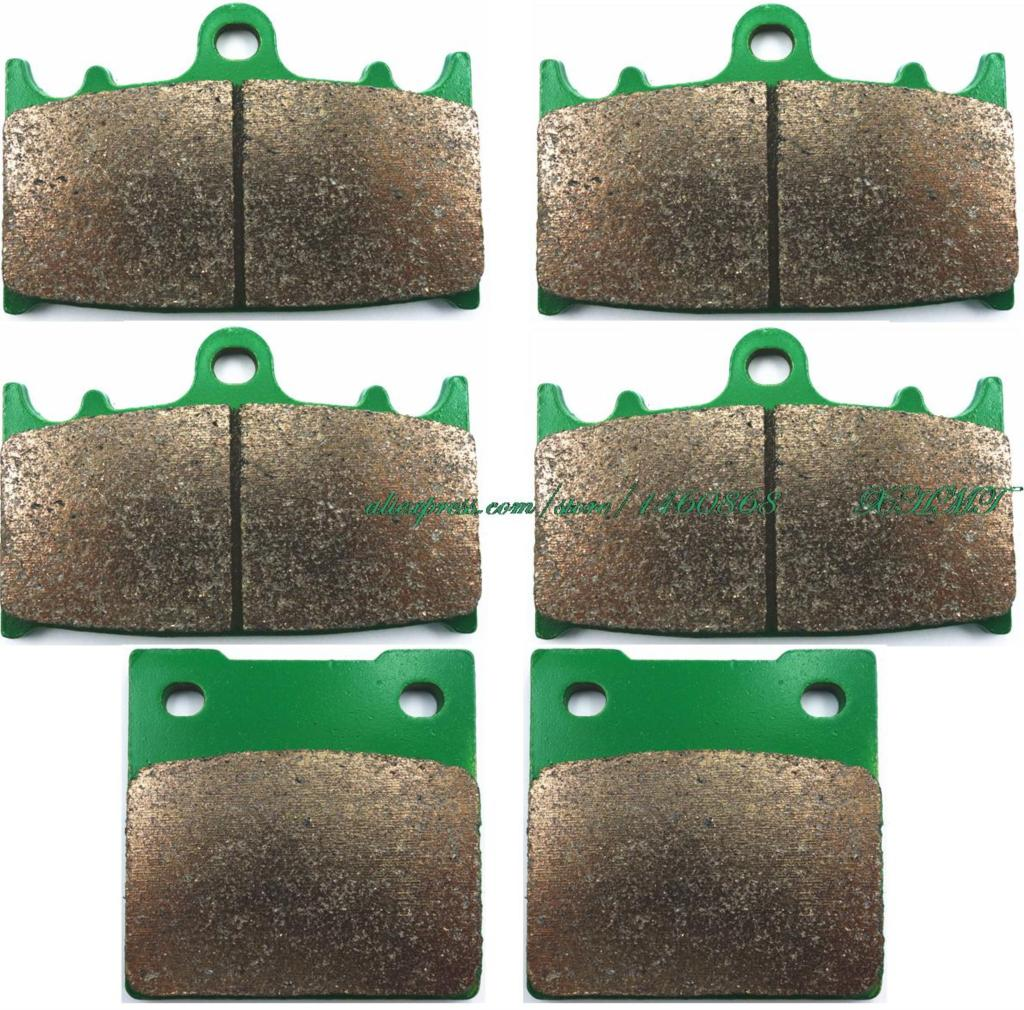 Brake Pads Set for KAWASAKI ZZR1100 ZZR1100GT ZX1100 ZZR 1100 GT ( ZX 1100 D ) 1993 1994 1995 1996 1997 1998 1999 2000 2001