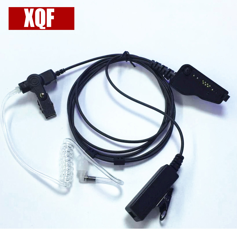 XQF Air Acoustic Earpiece For Kenwood Radio TK280/385/285/380/2140/3140/3185 Walkie Talkie Two Way CB Ham Radio