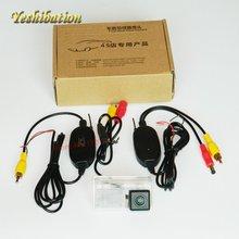 Yeshibation RCA Sem Fio/AUX Kit Receptor Transmissor de Vídeo Para TOYOTA Avensis Corolla Sedan 2003 ~ 2015 Monitor Do Carro DVD câmera de Visão traseira