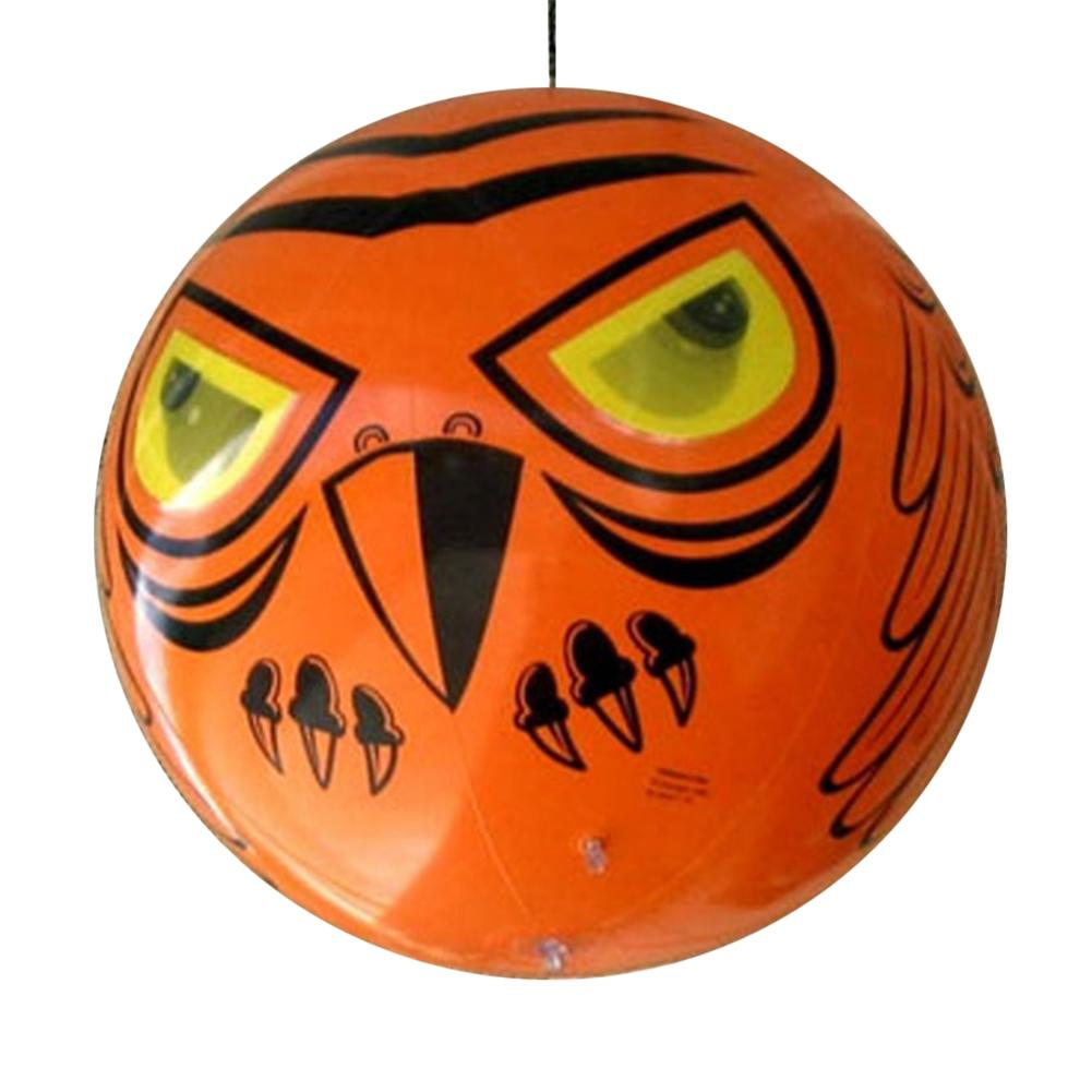 Terror ojos globo inflable aves susto con realista ojos holográficos para jardín suministros