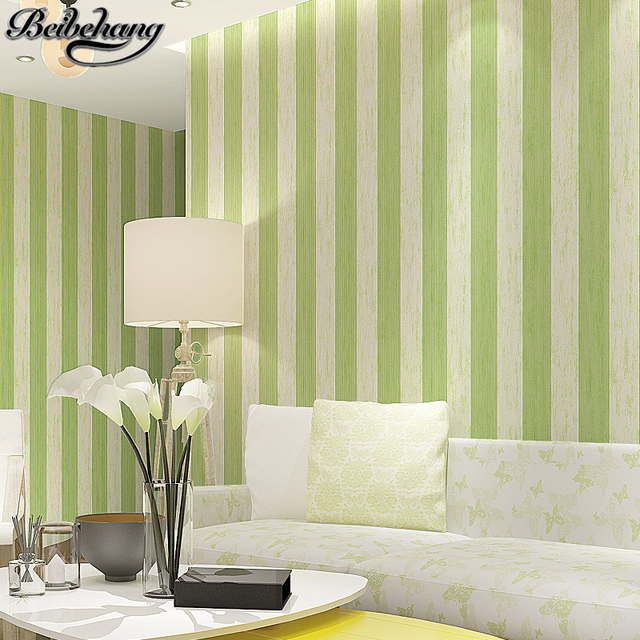 beibehang high quality Contemporary and contracted stripe non woven ...
