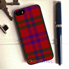 OUTLANDER TARTAN FRASER fashion case cover cover for iphone 4 4s 5 5s SE 5c for 6 & 6 plus 6S & 6S plus #CD383