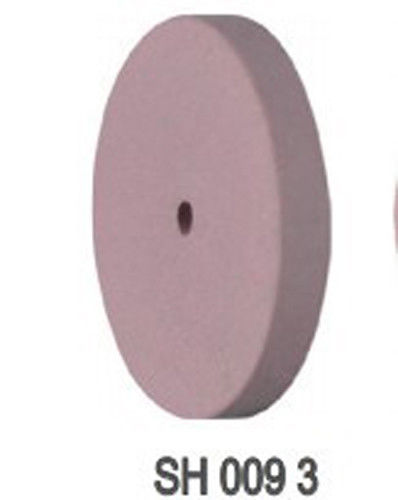 5PCS Dental Beauty Silicone Rubber Polishing Wheels Polisher SH White / Disk wheel