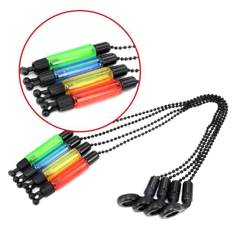 4 цвета рыбалка сигнал укуса звонок для рыбалки светодиодный световой индикатор сигнал укуса прочный рыба инструменты аксессуары