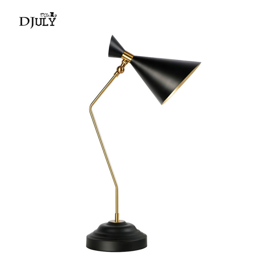 American industrial reading desk lamp for study bedroom office retro loft decor metal table light country led bedside lamps e27American industrial reading desk lamp for study bedroom office retro loft decor metal table light country led bedside lamps e27