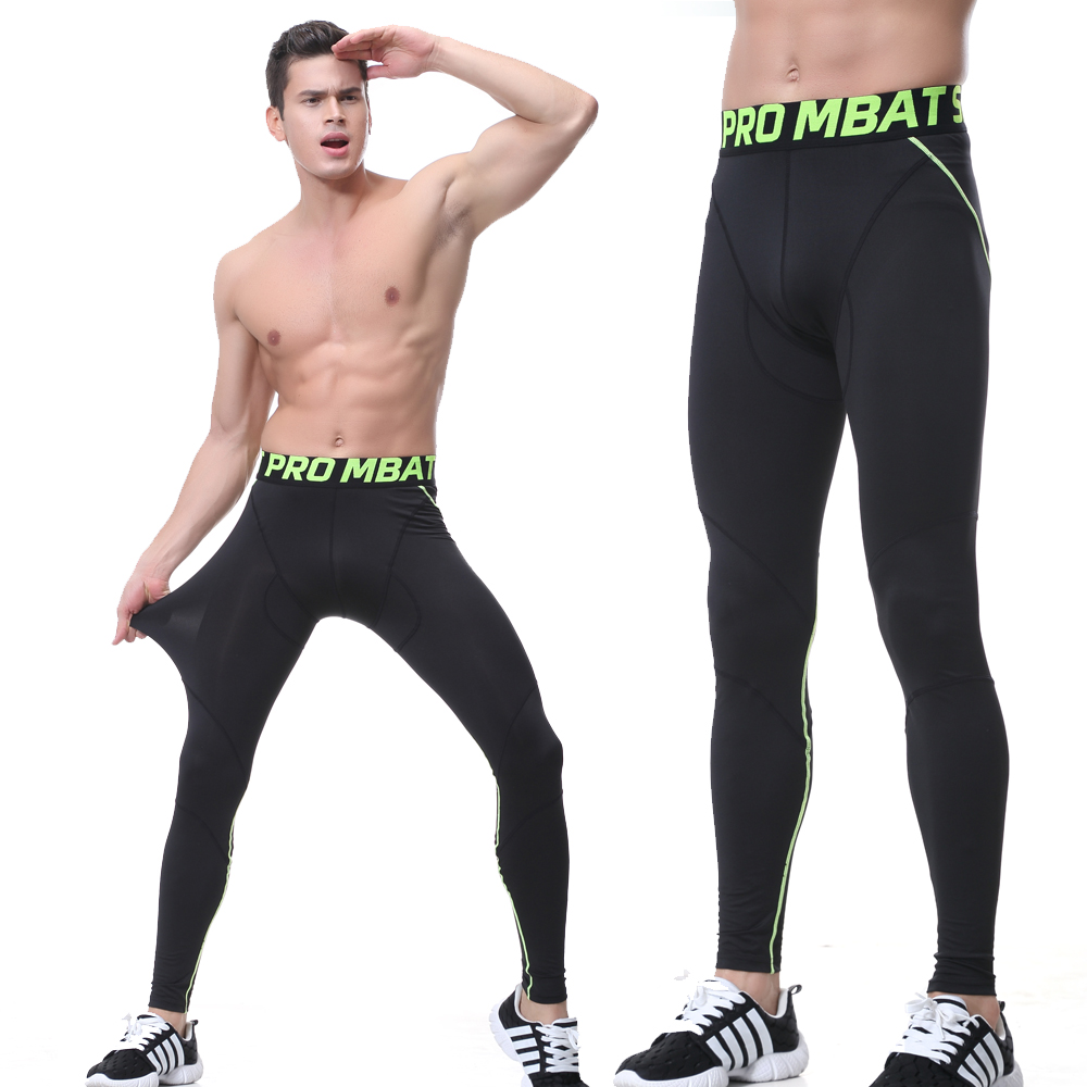 Mens Leggings Running 2017 Basketball Tights Ropa Deportiva Fitness Legging mens Mallas Hombre Sport Pants Gym Compression