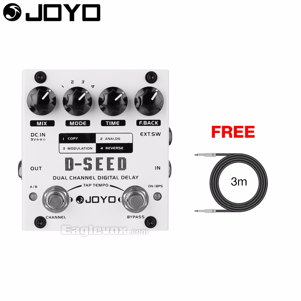 JOYO D-SEED Dual Channel Digital Delay Guitar Effect Pedal with Free 3m Cable seed dormancy and germination