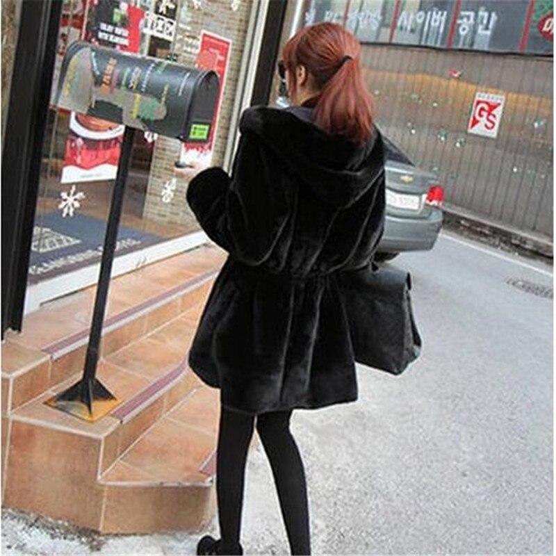 Épaississent Qq109 Femmes Fourrure À Vêtements Nouveau Longues Grande Color Capuchon D'hiver Loisirs Manteau Chaud Taille Mode Femelle Faux De Manches Tnlnzhyn Picture SdH6CwaxqH