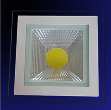 Free Shipping 9W/15W/18W Warm White/White/Cold White glass cover led down light panel lamp+ driver AC85-265V