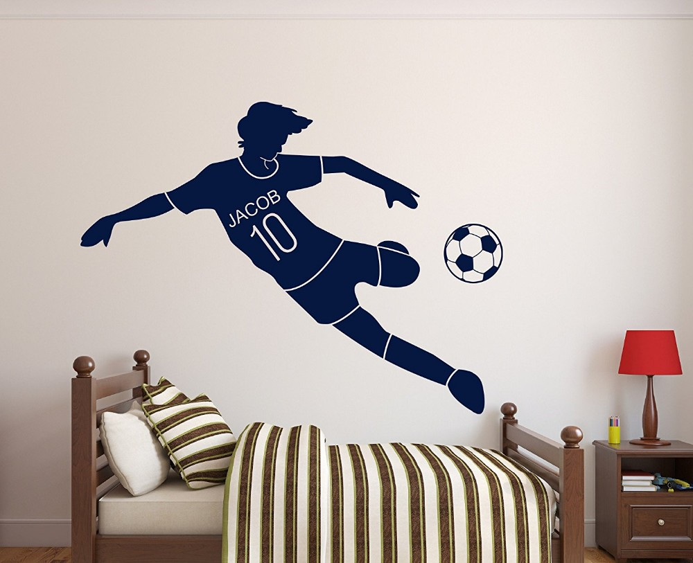 Soccer Wall Decor popular soccer posters wall art-buy cheap soccer posters wall art