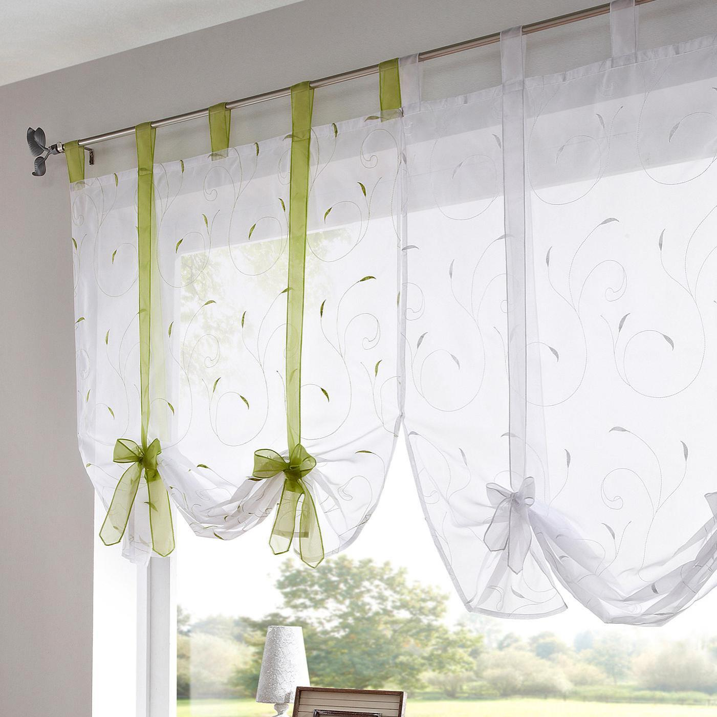 valance curtains gold kitchen grommet shop tiers cafe gray valances sheer decoration curtain window yellow tiered and