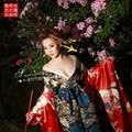 Япония Козер кимоно набор великолепный косплей элегантный мода косплей костюм бесплатная доставка