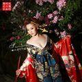 Japan Coser kimono set gorgeous cosplay elegant fashion cosplay costume free shipping