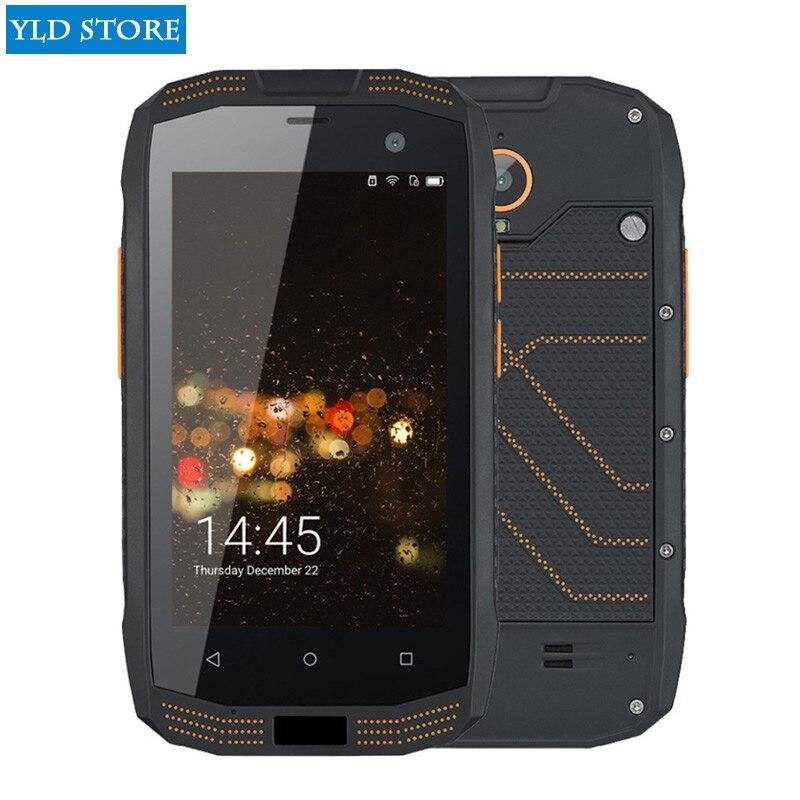 Jeasung A2 IP68 telefono cellulare Robusto impermeabile 2 GB di RAM 16 GB di ROM NFC OTG Android 5.1 Quad Core 8.0MP 1280*720 2600 mAh 4G FDD-LTE Cellulare