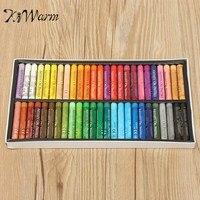 KiWarm 50 Colori Pastelli Ad Olio gessi Set Pastello Pastelli Disegno Penne per la Scuola Studente FAI DA TE Arte Regalo Pittura