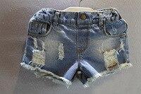 Grossista capretti Del Bambino Del Fumetto bicchierini 2017 nuovi jeans vestiti casual pantaloni corti pronto taglia 90 100 110 120 130