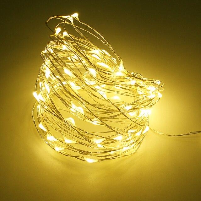 Waterdichte Koperdraad LED lichtslingers Vakantie RGB LED Strip ...