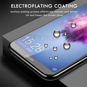 Image 3 - XPOKO 3 uds. 9H vidrio templado para Huawei Honor 9 10 8 Lite 8X Protector de pantalla para Honor 8X 7X 7A 7C 9X Pro película protectora de vidrio